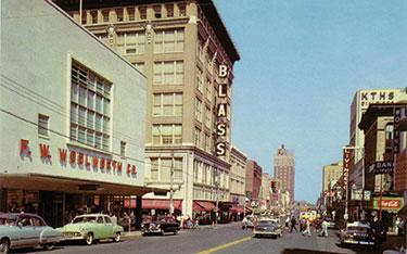 1956 Little Rock Main Street