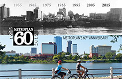 Metroplan 60th anniversary brochure