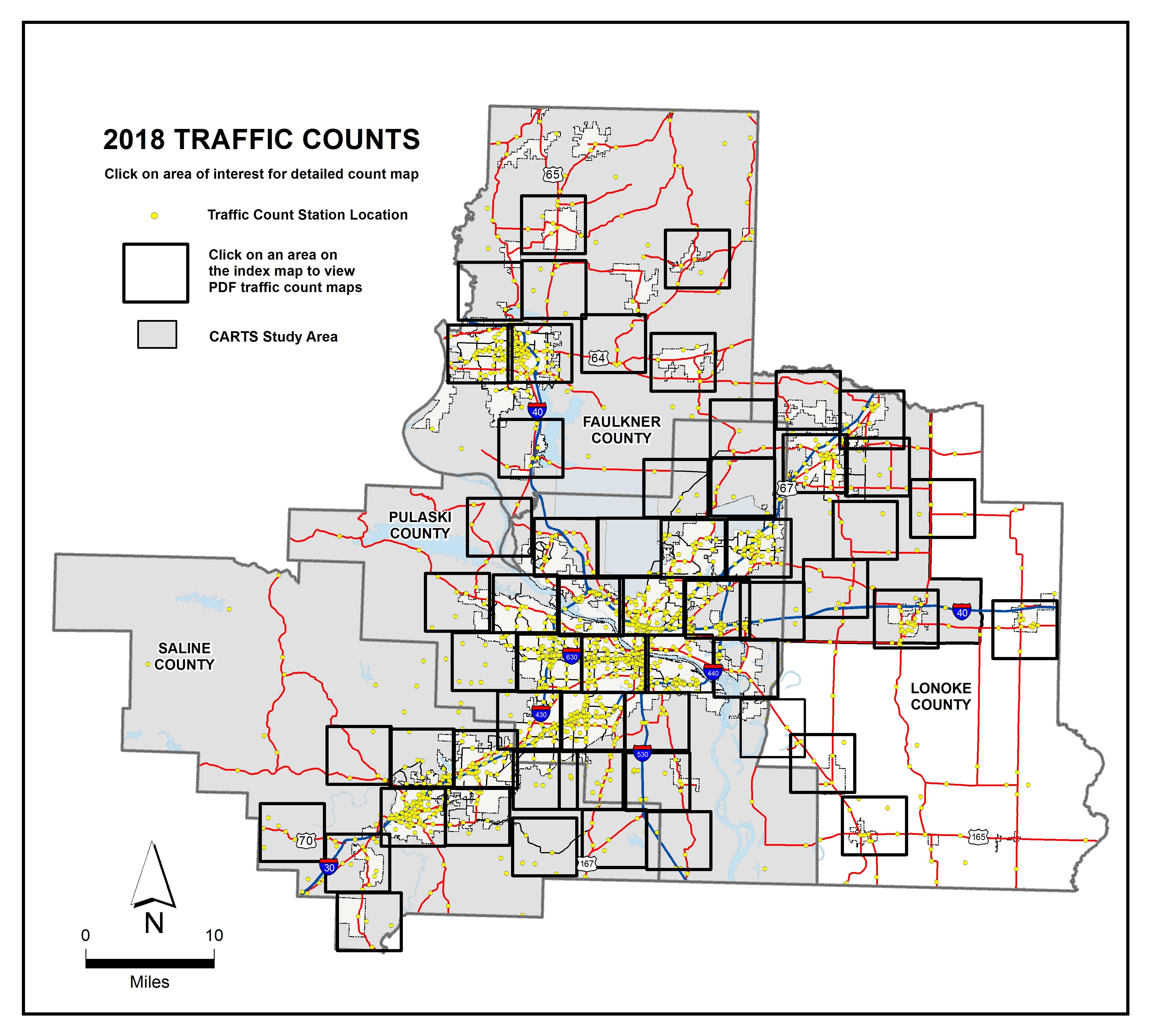 2018 Traffic Counts